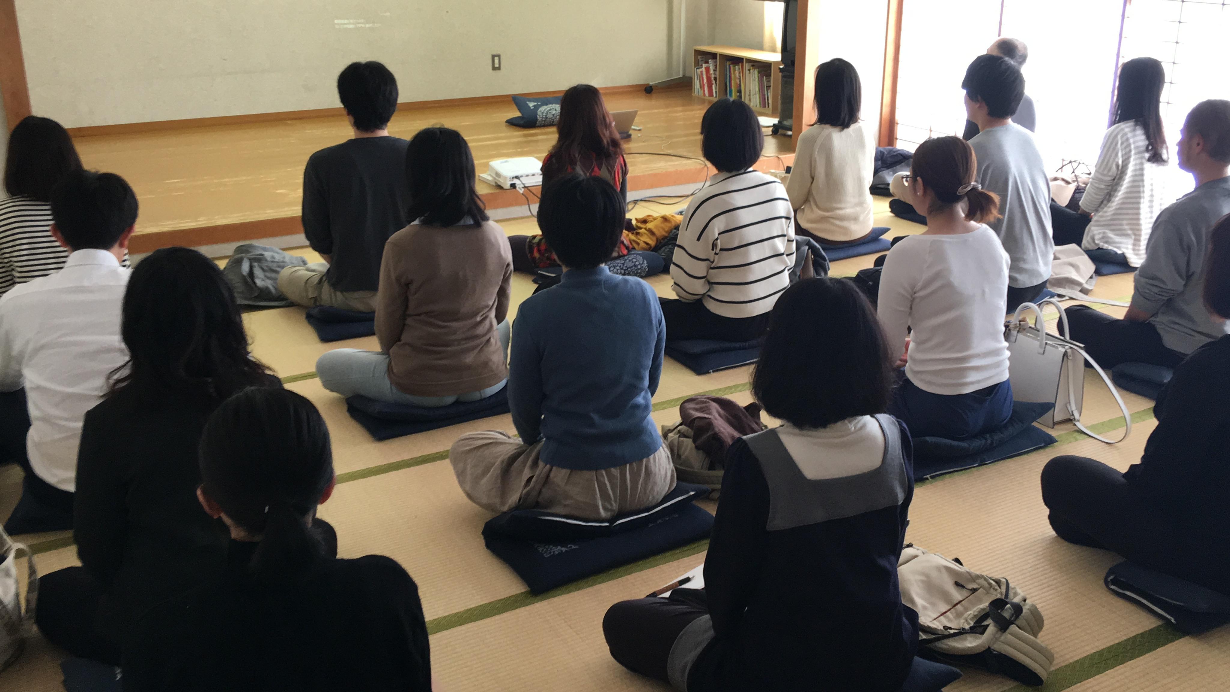 ヴィパッサナー入門瞑想会