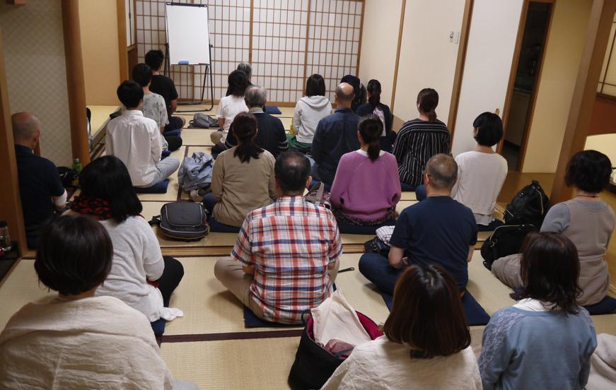 ヴィパッサナー瞑想 実践瞑想会