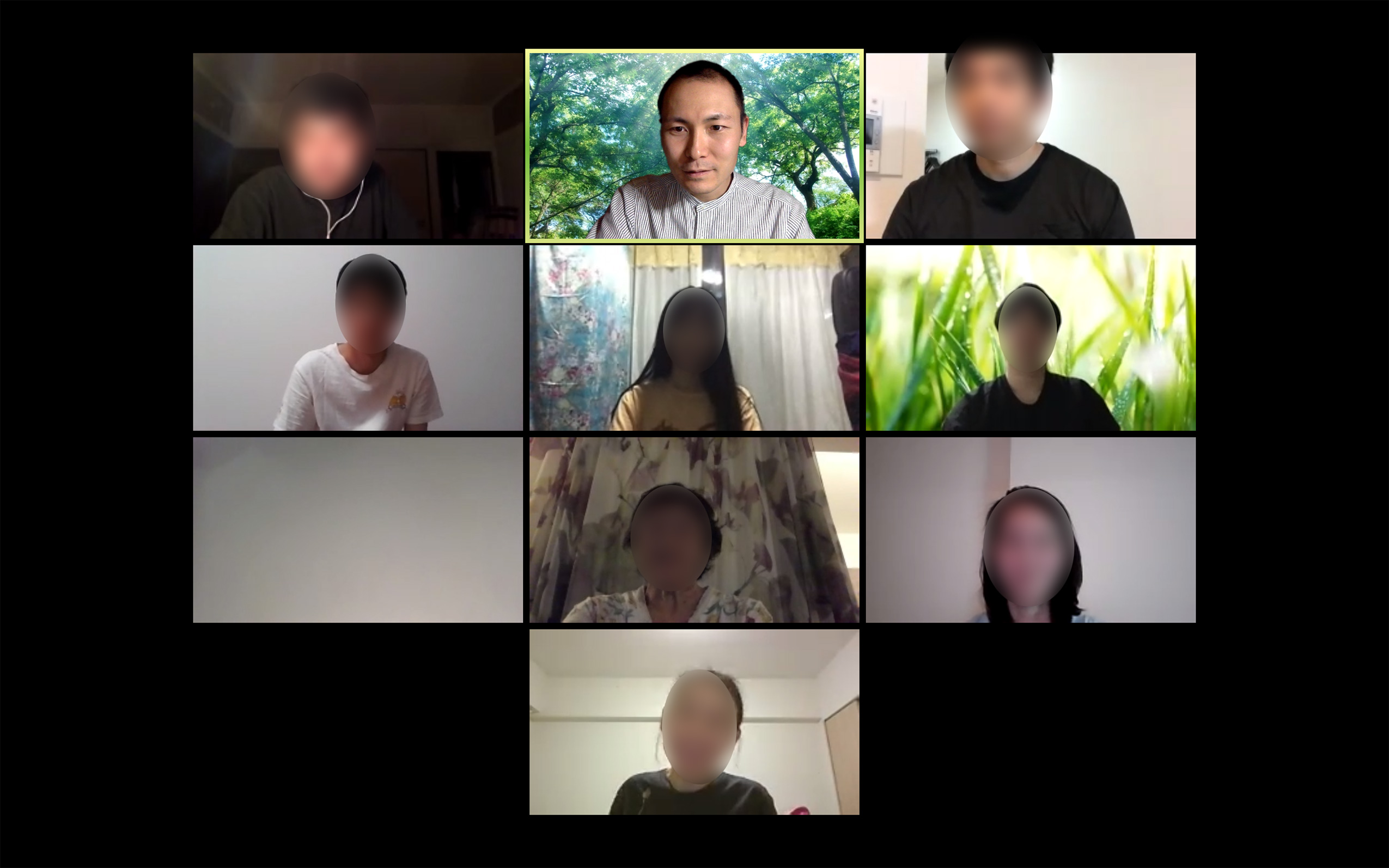 オンライン瞑想会